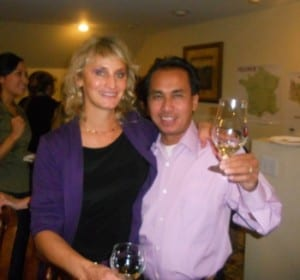 Camille Bouchard-Chhoeuk & Sang Chhoeuk - The Wine Vine Owners, Worcester MA